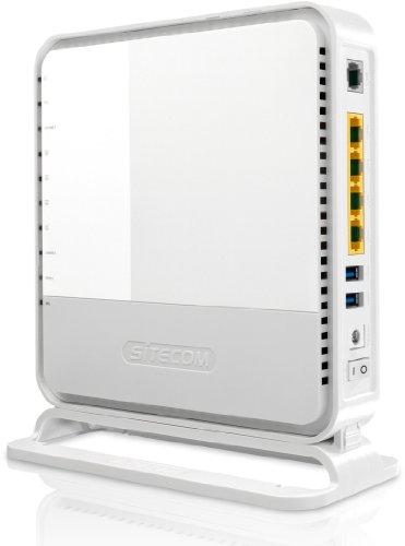 Sitecom WLM-6600 - Router (10, 100, 1000 Mbit/s, 10/100/1000Base-T(X), 802.11a, 802.11b, 802.11g, 802.11n, 11, 54, 150, 300, 450 Mbit/s, 2,4 GHz, Ethernet (RJ-45)) Color Blanco