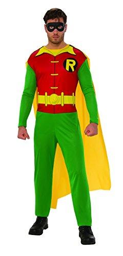 Batman - Disfraz de Robin para hombre, Talla M adulto (Rubie