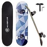 METROLLER Skateboards,31 x 8 Complete Standard Skate Boards for Girls...