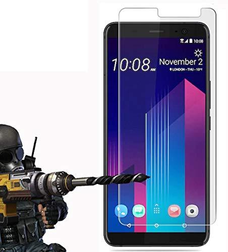 2 Pack - HTC U11+ / U11 Plus Panzerglas, FoneExpert® Gehärtetem Schutzfolie Glasfolie Hartglas Panzerfolie Displayschutzfolie für HTC U11+ / U11 Plus