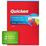 Quicken Deluxe 2019 Personal Finance & Budgeting Software [PC/Mac Disc] 1-Year Membership + 2 B…