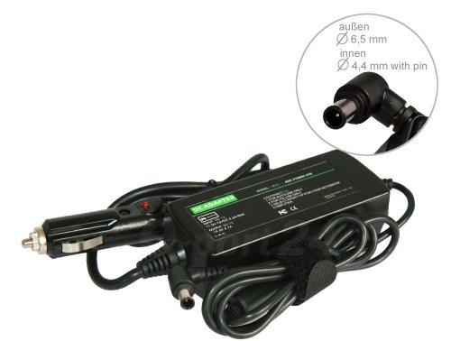 Alimentatore Caricabatterie da Auto Autoveicolo Macchina Car per Notebook Sony Vaio VPCZ13D7E VPCZ13M9E/B VPCZ13S9R/B VPCZ13V9E/X VPCZ13V9R/X VPCZ13X9R/B VPCZ13Z9E/X VPCZ13Z9R/XQ compatibile con VGP-AC19V10 VGP-AC19V11 VGP-AC19V12 VGP-AC19V13 VGP-AC19V14 VGP-AC19V19 VGP-AC19V20.