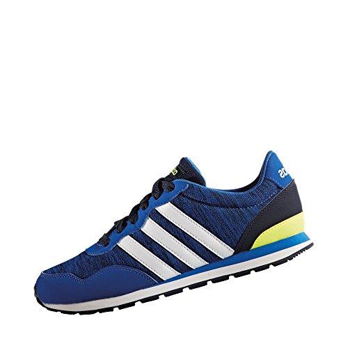 adidas V Jog K - Zapatillas de deportepara niños, Azul - (Azul/FTWBLA/Maruni), 6