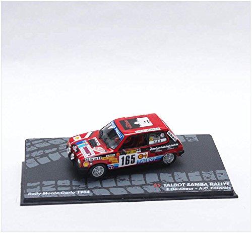 Coches Rally IXO 1:43 1/43 Talbot Samba Delecour 1984 Montecarlo RAL097