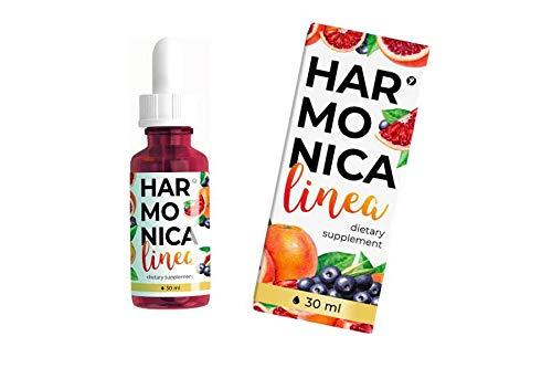 Harmonica Linea | Abnehmtropfen für Gewichtsverlus - 30ml | Nahrungsergänzungsmittel | Orangenextrakt | Cherimoya | Acai-Beeren | Chrompicolinat