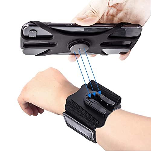 Running Armband-001 Sportarmband Handy 360° Drehbar Abnehmbar Handyhalterung zum Joggen, für 12 Pro Max, 11 Pro Max, S20 Plus, P40 Pro, Sportarmband für Joggen Radfahren Wandern