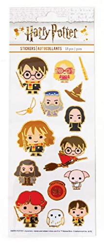 Playhouse Harry Potter Chibi Enamel Effect Sticker Sheet