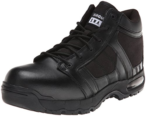 Original S.W.A.T. Men's Metro Air 5 Inch Side-zip Safety Tactical Boot, Black, 14 2E US