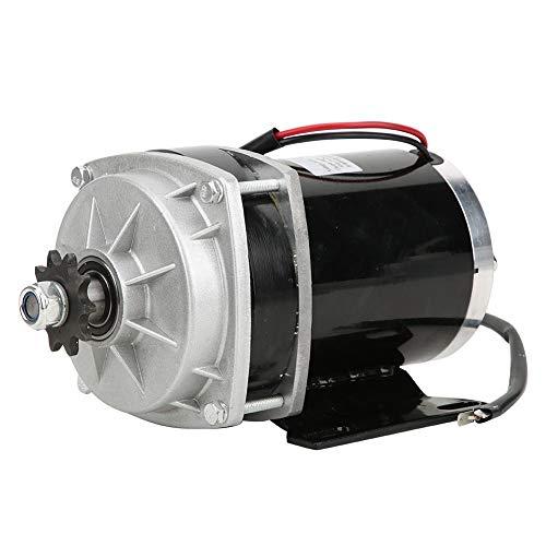 Alomejor1 Motorreductor de Metal eléctrico Piezas modificadas de Bicicleta 24V 48V 500W Motor de reducción de Engranaje 3200 RPM Velocidad Nominal