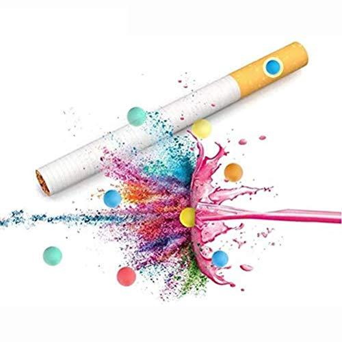 Rsoamy Menthol Zigarettenfilter, Aromatische Kapseln DIY Explosion Perlen Kugel Kapsel Zigarette Klickfilter Aromakarte Karte Aroma Infusionsgeschmack (100 Kapseln)
