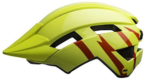 BELL Unisex Youth Sidetrack II Mips Children's Bicycle Helmet, Yellow, standard size