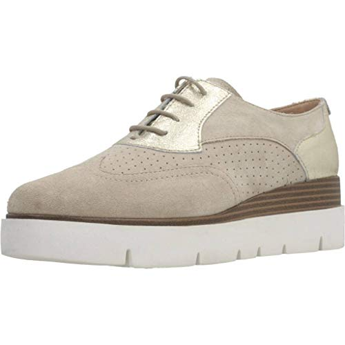 Geox D927PA 022VI Zapatos Casual Mujeres Oro 40
