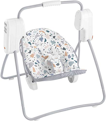 Fisher-Price Small Spaces Swing - Pacific Pebble