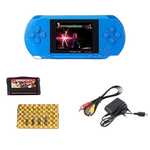 Amisha Gift Gallery Pvp Station Light 3000 Handheld Video Game Console For Kids With 1 Cassette(Assorted Colors)