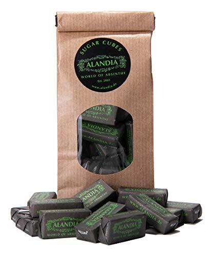 ALANDIA Absinth-Zucker | Zuckerwürfel in wiederverschließbarem Beutel | Notwendig für die echte Absinth-Zubereitung | (39,33 €/kg)