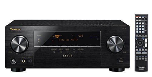 Pioneer Elite VSX-45 5.2-Channel AV Receiver with Built-In Bluetooth and Wi-Fi (Black)