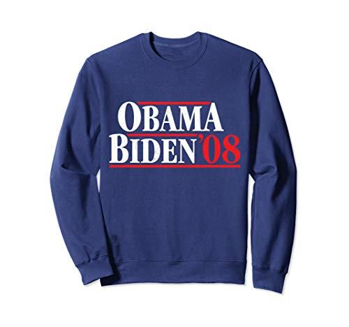 Obama 08 Retro Campaign Obama Biden Sweatshirt