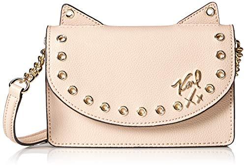 Karl Lagerfeld Paris Damen Kato Crossbody-Tasche, Shell, Einheitsgröße