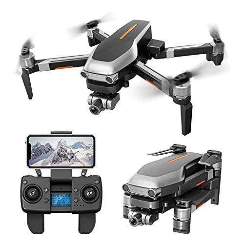 JAJU Drone FPV con Fotocamera 4K, Video Live HD WiFi 5G, Ritorno Automatico GPS, quadricottero RC per Adulti, Motore brushless, Controllo App, Punto di Interesse, seguimi, 2 batterie