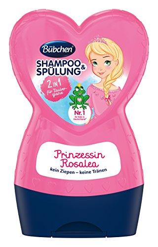 Bübchen Prinzessin Rosalea Kinder-Shampoo und -Spülung, 1er Pack (1 x 230 ml)