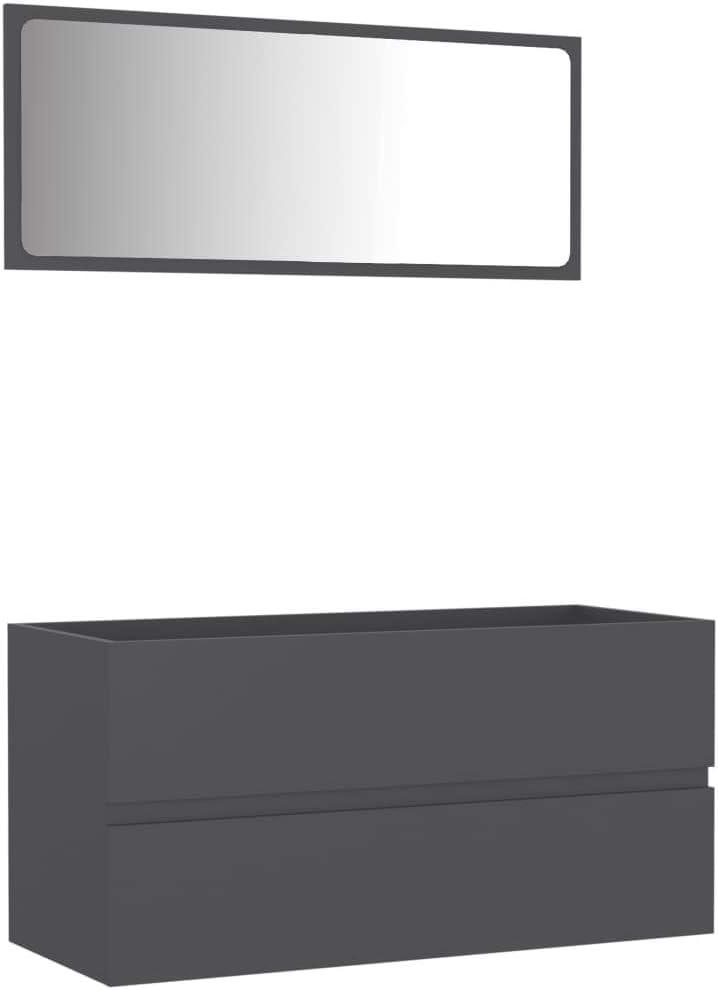 Warmliving Bathroom Bombing free shipping Vanity Set SALENEW very popular! Wall Mounted Cabinet wit