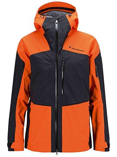 Peak Performance Heli Gravity Veste de snowboard pour homme XL Rouge orange.