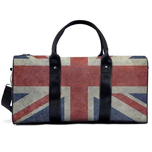 Bolsa de deporte para gimnasio, versión de Inglaterra, bandera nacional, bolsa de yoga, bolsa de hombro, bolsa de viaje, bolsa de viaje para hombres y mujeres