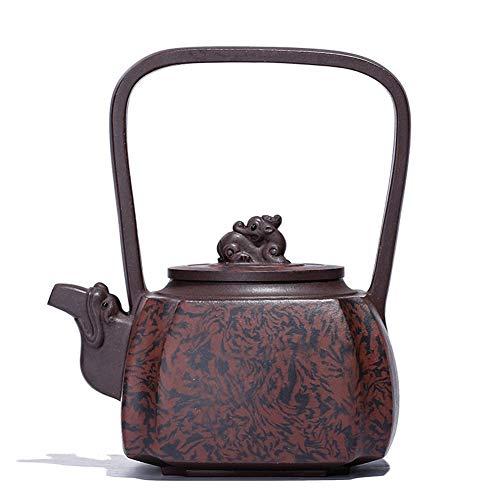 JIANGNANCHUN erts paars klei modder pompen draai hoek van het kwartet draak kracht normale keramische producten maker Eén maat Paarse modder