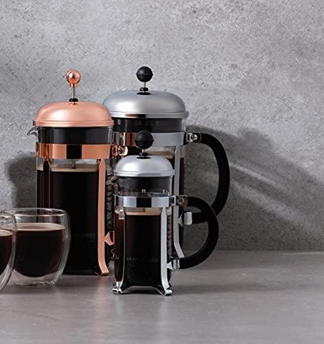 BODUM Chambord 12 Cup French Press Coffee Maker, Chrome, 1.5 l, 51 oz