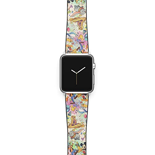 Watch Band Compatible with Apple iWatch All Series 38mm 40mm 42mm 44mm Cartoon Design Strap (cart1) (42/44mm)