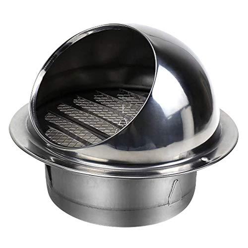 Tapa De Capucha De Chimenea, 304 Acero Inoxidable Montaje En Pared, Ventilación Redonda Resistente Externo, Externo, Ventilación De Ventilación Extractor De Capuchas, Ventilación De Capuch(Size:150mm)
