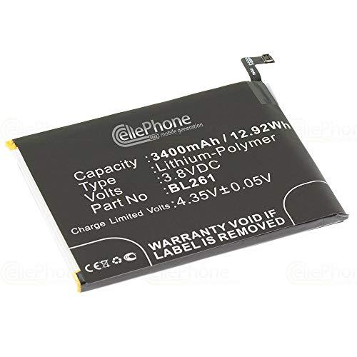 cellePhone batería Li-Polymer para Lenovo K5 Note (reemplazado BL261)