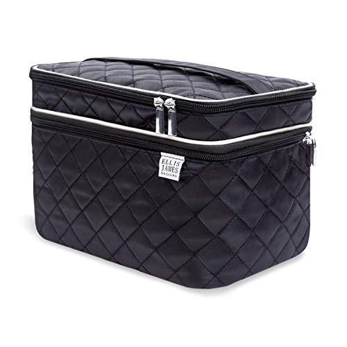 Ellis James Designs Large Travel Makeup Bag