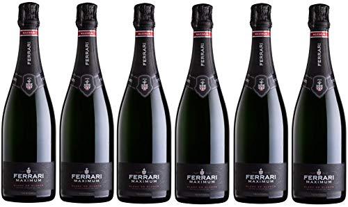 Cassa da 6 Bottiglie di Ferrari Maximum Blanc de Blancs 0,75