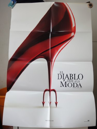 Original International Spanish Movie Poster The Devil Wears Prada El Diablo Viste A La Moda Anne Hathaway Meryl Streep