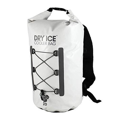 Dry Ice Cooler rugzak koeltas 20 liter wit waterdichte tas