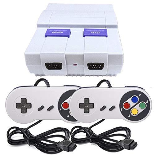 Classic Retro Game Console,Built-in 400 Games Super Mini Video Gamewith 2 Classic Controllers