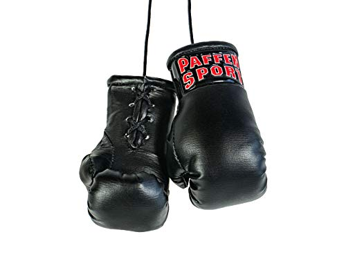 Paffen Sport «Colour» Mini Boxhandschuhe, Anhänger fürs Auto, schwarz