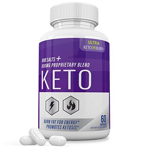 Ultra Keto X Burn Shark Tank 800 mg, Ultra Keto X Burn Diet Pills Tablets Capsules, Pure Keto Fast Supplement for Energy, Focus - Exogenous Ketones for Men Women 1