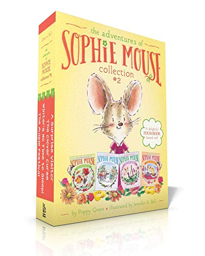 The Adventures of Sophie Mouse Collection #2: The Maple Festival; Winter's No Time to Sleep!; The Clover Curse; A Surprise Visitor