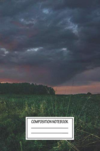 Composition Notebook: Landscapes The Way Forward Landscapes Wide Ruled Note Book, Diary, Planner, Journal for Writing