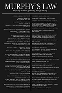 Studio B Poster Murphy's Law 36x24 Wall Art p0185