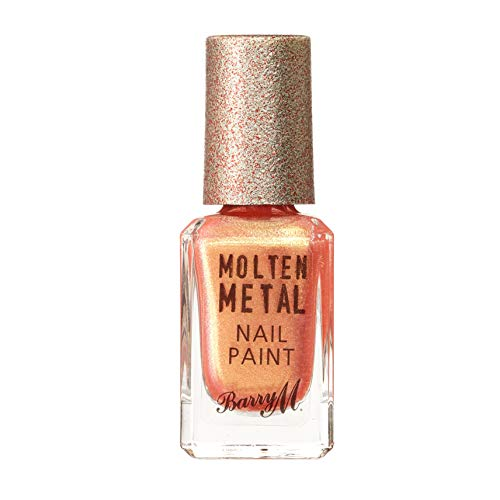 Barry M Cosmetics Molten Metal Nail Paint - Peachy Feels