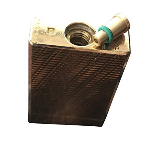 SMTHOME 1PZ Adattatore di ricarica gas in ottone per tappi rossi S.T Dupont Ligne1 Accendino Parte di riparazione fai da te