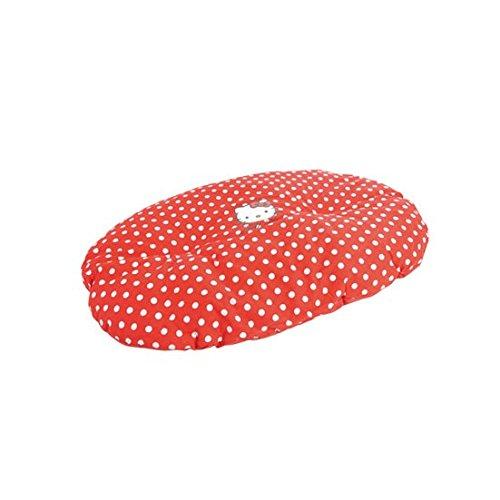 HELLO KITTY Coussin pour Chien avec Motif Flocon Rouge 60 cm