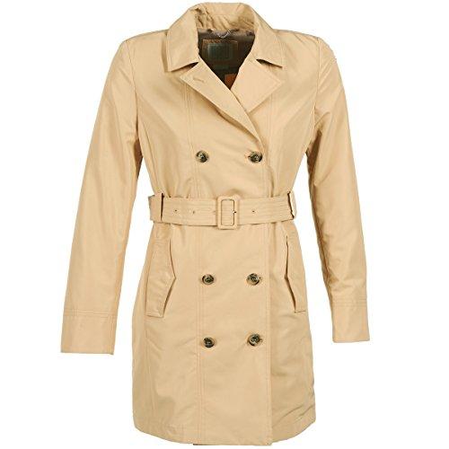 Geox Laura Mäntel Damen Beige - DE 42 (IT 48) - Trenchcoats Outerwear