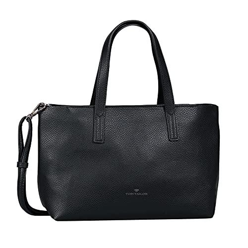TOM TAILOR bags MARLA Damen Shopper M, black, 34x12x21