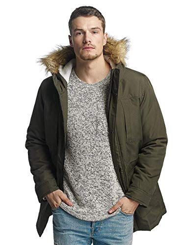 ONLY & SONS Herren onsESKIL Parka Jacket NOOS Jacke, Grün (Deep Depths), Large