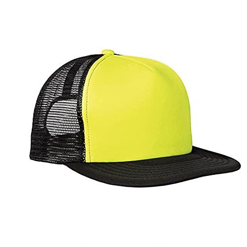 chenyueshangmao Sombrero de Mujer Gorras de Hombre Gorra de béisbol de ala Plana Personalizada Australia patineta de Surf Gorra de Malla para sombrilla de Playa de Verano Sombrero de camión en Blanco