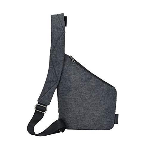 dingtian Umhängetasche Brand Men Travel Business Einbruchssichere Tasche Umhängetasche Diebstahlsicherung Holster Sicherheitsgurt Digitale Aufbewahrung Brusttaschen
